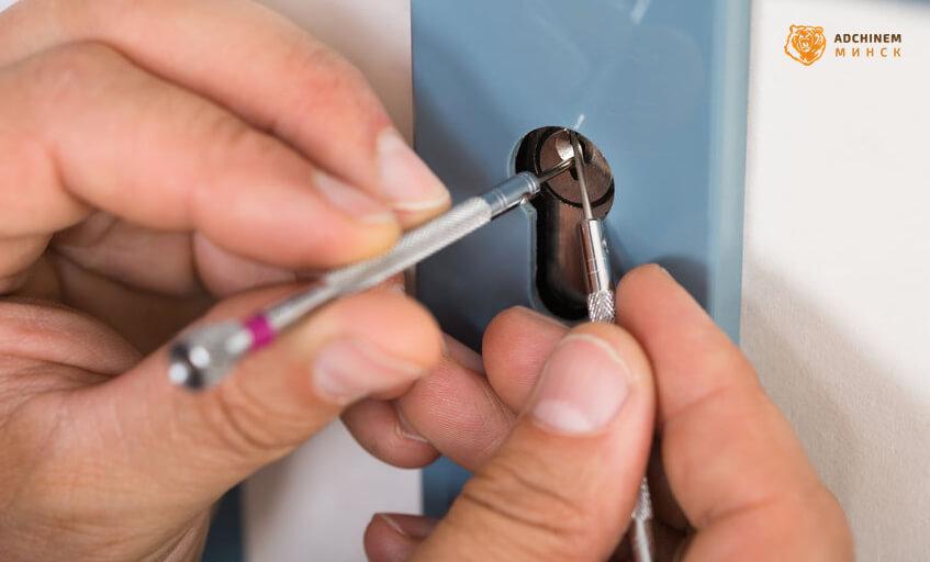 как достать сломанный ключ из замка